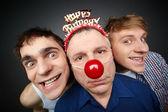 Guys having fun — Stock Photo