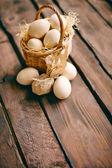 Composición del huevo — Foto de Stock