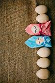 Artesanía de pascua — Foto de Stock