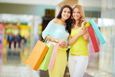 Compradores amigáveis — Foto Stock
