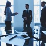 Business conversation — Stock Photo #47629103