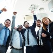 Excited business partners — Stock Photo #47629327