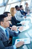 Business seminar — Stock Photo