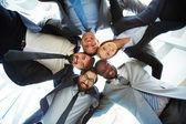 Multi-ethnic business team — Stock Photo