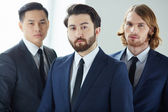 Serious businessmen — Stock Photo