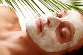 Clearing skin — Foto Stock