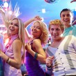 Girls and guys dancing at party — Stock Photo #47818811