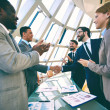 Business people clapping hands — Stock Photo #49205525