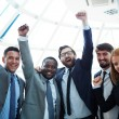 Group of ecstatic business partners — Stock Photo #51557023