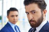 строгая бизнесмен — Стоковое фото
