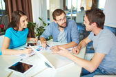 Business partners at meeting in office — Stock Photo