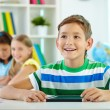 Schoolboy at lesson — Stock Photo #51565603