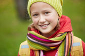 Studentessa felice — Foto Stock