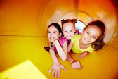 Girls on playground — Stock Photo