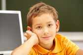 Calm pupil — Stock Photo
