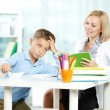 Tutor and pupil — Stock Photo #51574461
