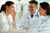 Physicians and patient — Stock Photo