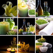 Spa collage — Stockfoto