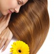 Stockfoto: Beautiful woman's hair