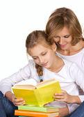 Společné čtení — Stock fotografie