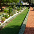 Bahai garden - Stock Photo