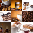 Coffee collage — Stockfoto