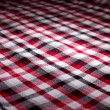 Classical checkered plaid — Stock Photo