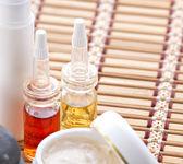 Facial spa-kosmetik-produkte — Stockfoto