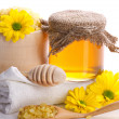 Stock Photo: Spstill - honey and flowers