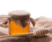 Closeup still of honey — Stock Photo