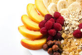 Ingredients for healthy breakfast — Stock Photo