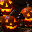 Halloween pumhkins — Stock Photo #32065155
