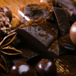 Stock Photo: Chocolate and bonbon