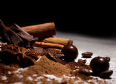 Chocolate mix — Stock Photo
