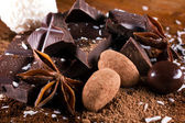 Chocolate and candy — Stock Photo