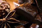 Chocolate and badiane — Foto de Stock