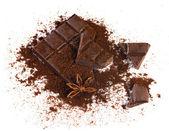 スパイスとチョコレート — ストック写真