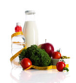Healthy nutrition for dieting concept — Stock Photo