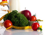 Healthy dieting nutrition — Stock Photo