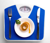 Diet still with meal — Foto Stock
