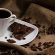 Coffee, chocolate and spices — Stock Photo