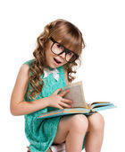 Learning girl — Stock Photo