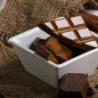 Stock Photo: Chocolate and spice