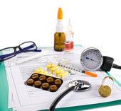 Doctor's accessories — Stock Photo