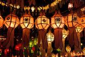 Paper lanterns — Stock Photo