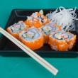 "Stock Photo: Sushi name ""California"""