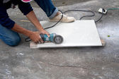 Tile cutter — Stock Photo