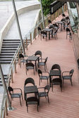 Balcony seats — Stock Photo