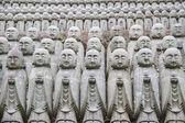 Buddha jizo statue — Stock Photo