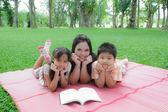 Family activities — Stock Photo